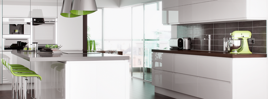 Kitchen Modern - Lucente White